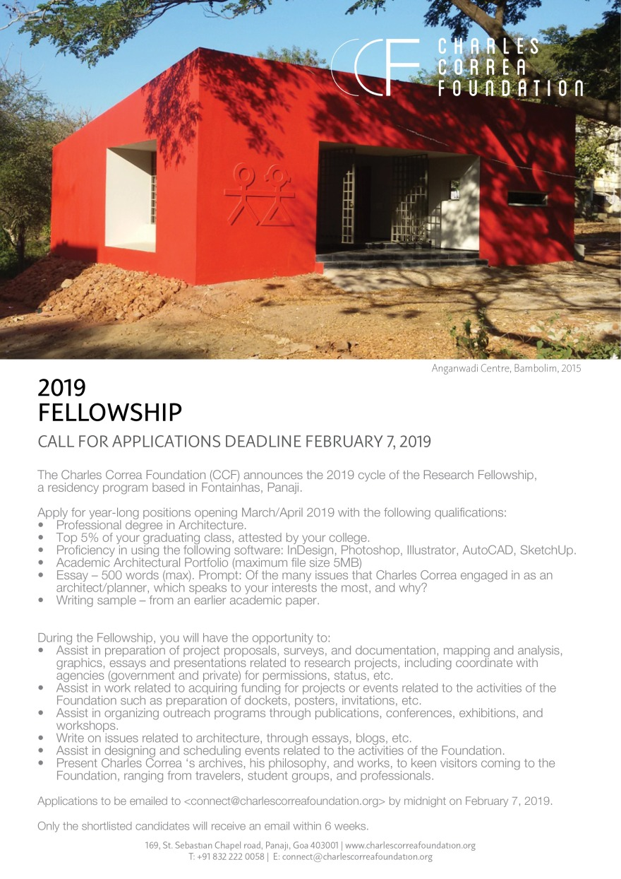 Call for Fellows_Poster A4