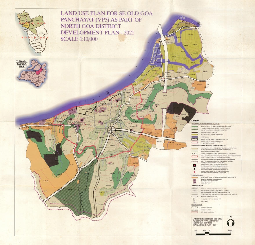 Old Goa Land Use Plan